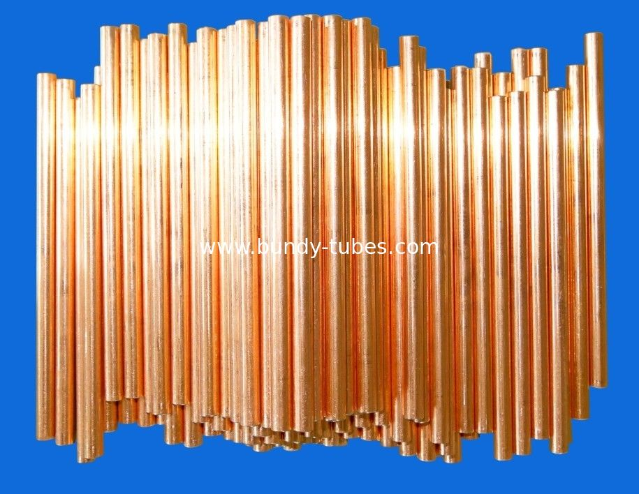 Low Carbon Air Conditioning Copper Pipe For Cooling system ISO9001 / ISO14001