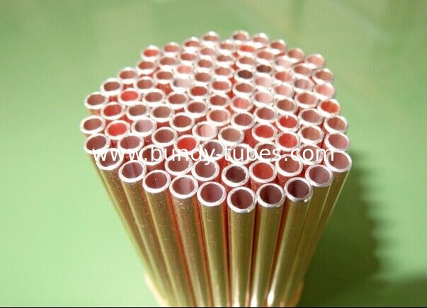 Air Conditioning Copper Tubing 9.53mm × 0.5mm Double Wall For Refrigeration