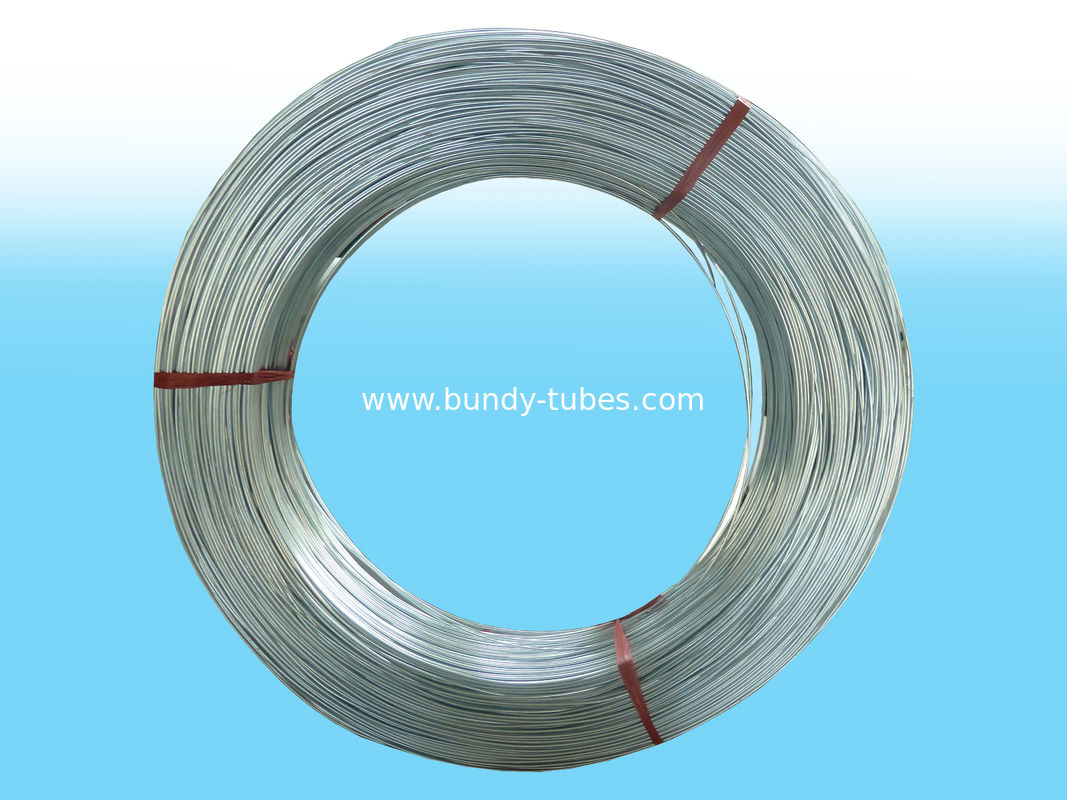 High Frequency Galvanized Steel Tube 8mm × 0.65mm Without Zinc Coated